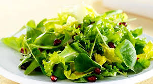 gourmet italian recipes green salad with pomegranate seeds