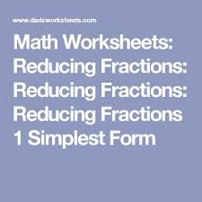 best 25 fractions in simplest form ideas on pinterest simplest