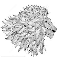 printable coloring pages zentangle lion zentangle coloring page free printable coloring pages