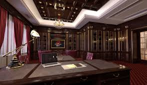 interior design home study indesignclub study room with home library interior in classic style