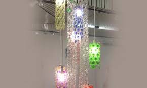 Plastic Chandelier Brand Cascading Chandelier Inhabitat Green Design