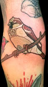 top 10 best sparrow tattoo designs and ideas