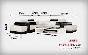 canapé d angle 7 places cuir canapé d angle cuir italien design et pas cher brad 2