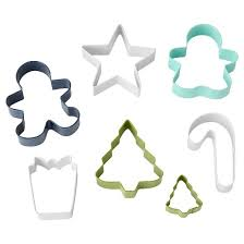 wilton 7pc holiday cookie cutter set target