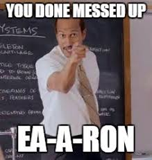 Ron Meme - with the growing outrage directed at ea all i can think of is