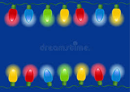 christmas lights in vector stock vector image of decoration 6568796
