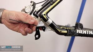 how to replace a derailleur hanger my mtb guide