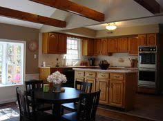 kitchen paint color ideas with oak cabinets oak kitchen cabinets