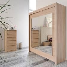 chambre avec miroir armoire 2 portes avec miroirs achat vente armoire de