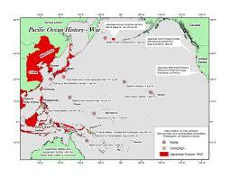 Pearl Harbor Map Pacific Maps Solomon Sea