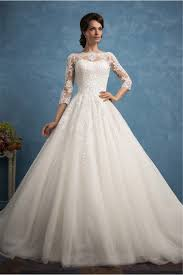 wedding dress high neck gown high neck three quater sleeve tulle lace wedding dress