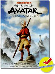 avatar airbender art animated series hc