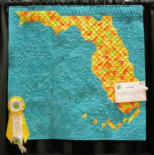 Map Quilt Flourishing Palms Quilt Show