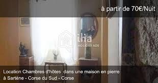chambre d hote sartene chambres d hôtes à sartène iha 44334