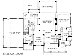 open concept ranch floor plans ranch house plans with mudrooms