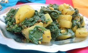 cuisiner epinard recette indienne en vidéo aloo palak de cuisine indienne