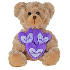 get well soon teddy purple get well name benny get well soon description benny