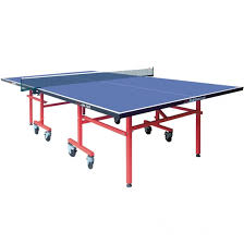 collapsible table tennis table outdoor aluminum board single folding table tennis table for