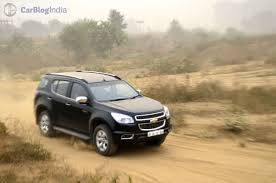 chevrolet trailblazer 2015 chevrolet trailblazer india price pics features launch