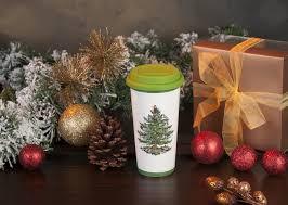 spode tree 11 oz travel mug with silicone lid spode usa