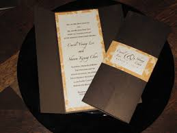 Tri Fold Invitations Wedding Invitations Calligraffitiinvitations Com