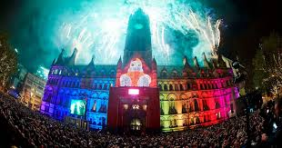 new year s celebrations live live updates happy new year manchester revellers welcome in 2017