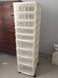 Drawer Storage Units 9 Drawer Plastic Storage Unit For Sale In Pacifica Ca 5miles