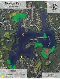 Google Maps Massachusetts by Massachusetts Bass Fishing Spots Neponset Reservoir Foxboro Ma