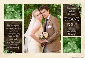 thank you card sles amazing style wedding thank you picture