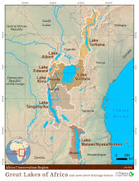 Map Of The Africa by About The Lakes U2013 Great Lakes Of Africa