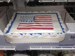 flag cake costco 4th of july pinterest flag cake costco