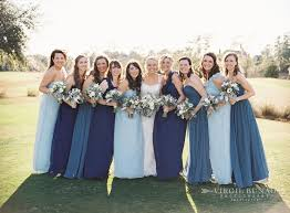 navy bridesmaid dresses mismatched purple and lavender bridesmaid dress ideas link