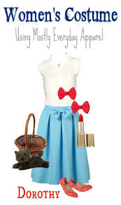 Dorthy Halloween Costumes Diy Dorothy Wizard Oz Halloween Costume Adults Style