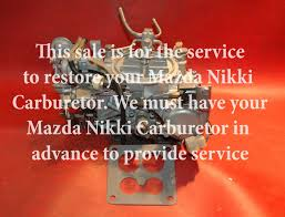 used mazda carburetors for sale