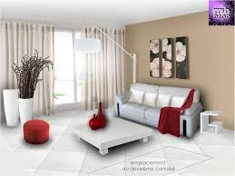 peinture canapé cuir canapé canapé cuir blanc best of peinture moderne salon avec marron