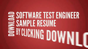 resume writing software software test engineer resume cv writing tips examples youtube