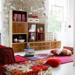 home decoration minimalist bedroom design with oak bedroom