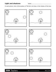 light and shadows lesson plans light and shadows worksheet for 3rd 4th grade lesson planet