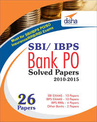 buy sbi u0026 ibps bank po solved papers 26 papers book online at