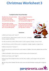 christmas worksheet 3 image png
