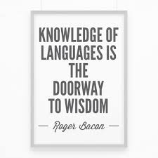 Quote About Motivation Quote Quote About Language Learning Knowledge Of
