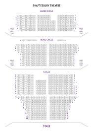 The O2 Floor Plan Shaftesbury Theatre Seating Plan London Boxoffice Co Uk