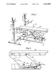 patent us5141480 bench press exercise apparatus google patents