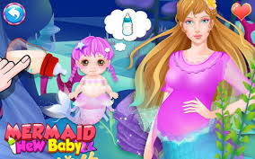 film kartun anak barbie terbaru mommy mermaid s newborn baby aplikasi di google play