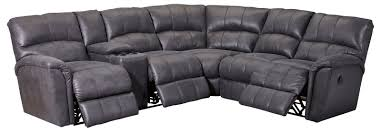 Land Of Leather Sofa by Grand Torino Reclining Sectional 230 Sofas And Sectionals
