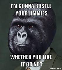 Gorilla Munch Meme - steam community guide how to not rustle your jimmies in a