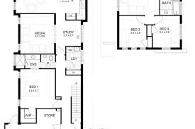 narrow house floor plans enchanting 9m narrow block house designs photos best inspiration