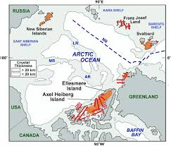 Map Of Canadian Provinces Architecture Of The Canadian Portion Of The High Arctic Large