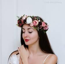 headband flowers best 25 wedding flower headbands ideas on flower girl