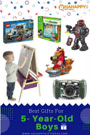 best gifts for a 5 year boy educational hahappy gift